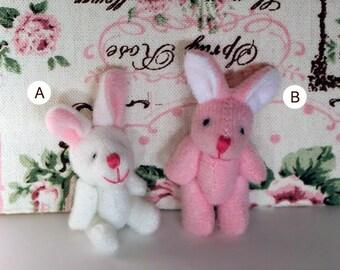 Rabbit plush miniature