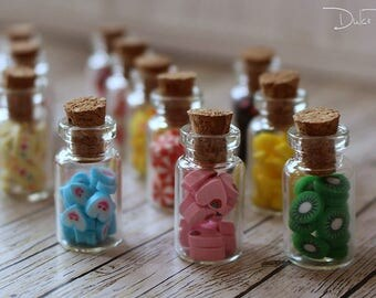 Miniature candy jar