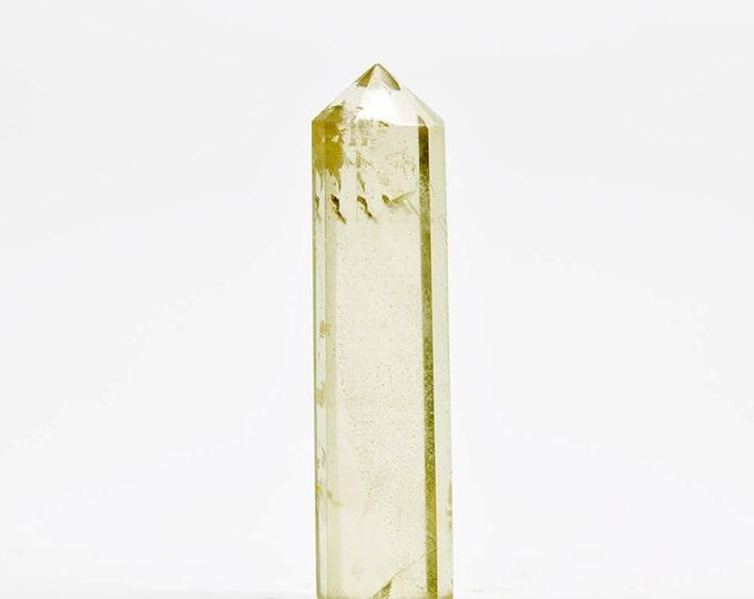 Smoky Quartz crystal pencil point SQP19
