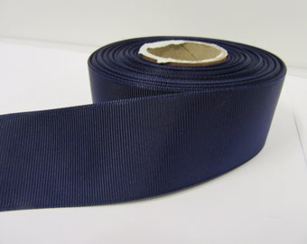 Grosgrain Ribbon 3mm, 6mm 10mm 16mm 22mm 38mm Rolls, Dark Purple, 2, 10, 20 or 50 metres, Ribbed Double sided,