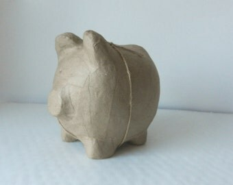 DECOUPAGE Decopatch PIGGY BANK Pig, Paper Mache Craft, Brand New