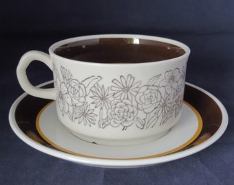 Gefle, Maud, Tea cup and saucer.