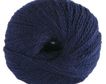 KNIT PICKS Palette Yarn, Fingerling, 50g, 231 Yds, Color - Navy
