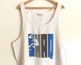 90s SHAQ REEBOK TANK Top T-Shirt/ Size X-Large