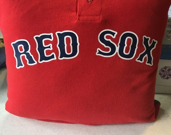 Red Sox Pillow Etsy