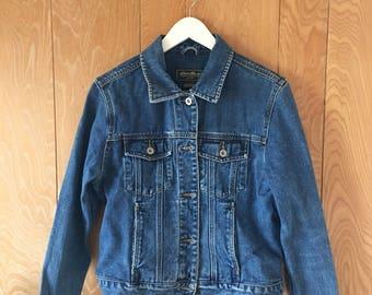 Vintage Eddie Bauer jean jacket, size small