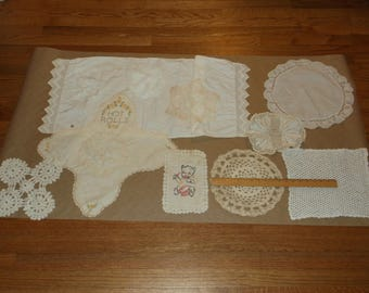 Vintage Doily Group 2