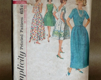 Vintage Simplicity 5034 dress pattern