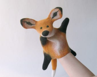 The Red Fox hand puppet