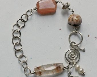 Golden Rutile Quartz Bracelet