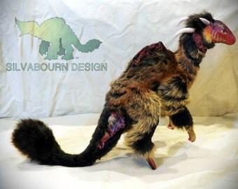 Silvabeast OOAK Art Doll Yaris - Mountain Hopper