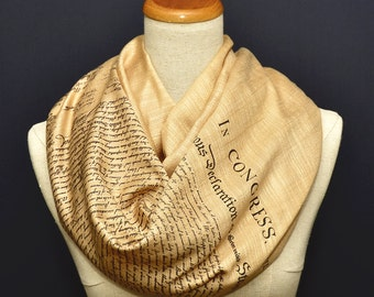 The Declaration of Independence Scarf/Shawl