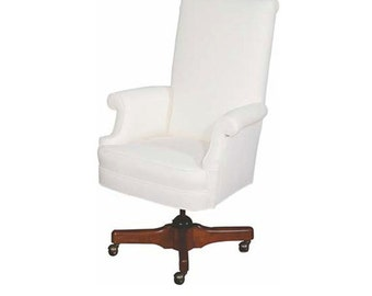 Office or Desk Chair Upholstered and Custom Made to Your Style