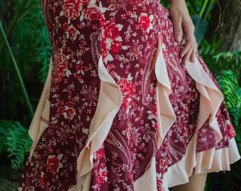 Skirt model July
