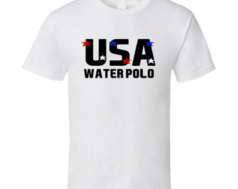 Water Polo Usa Hobbies Sports And Activities T Shirt