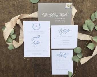 Julie Invitation Suite