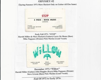Akron Willow History 1970 to 1974