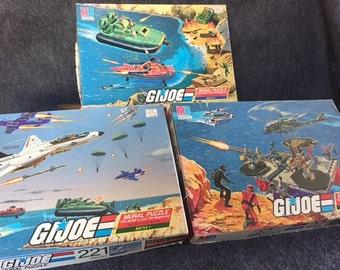 Vintage GI Joe puzzles