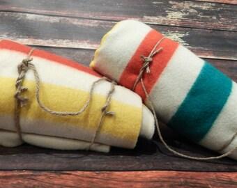 Hudson Bay Style Blanket: Blanket, Decorate Throw, Polar Star Dawn Series