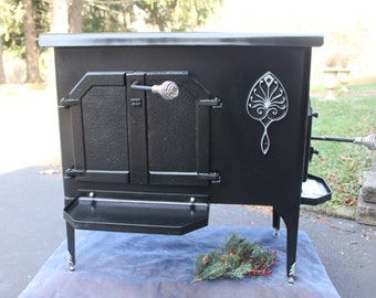 Atlanta Wood Stove -- Fireplace Stove, Free-Standing