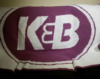 K&B Blanket Throw - Finished Product