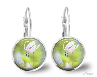 Earrings flowers spring 14