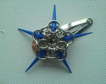 Star spike hair clip