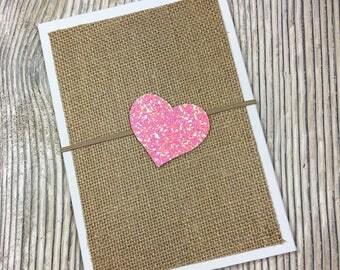 Glitter heart headband, Newborn headband, Baby girl headband, Pink glitter headband, Pink heart headband, Heart headband, Heart hair clips
