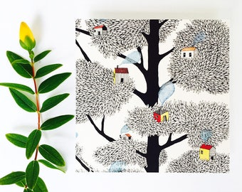 Card tree SILENCE