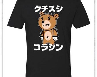 Anime money Bear tee