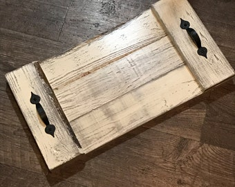Rustic Coffee Table Tray