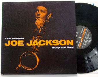 JOE JACKSON Vinyl LP Body and Soul from 1984 Release on A&M
