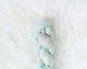 unicorn stampede - peapod sock yarn - merino wool/nylon
