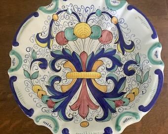 Folk Art Wall Plate Romanian