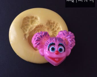Abby Cadabby Inspired Silicone Mold