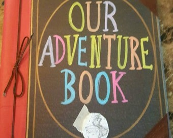 NEW!!!!! Our Adventure Book 8 1/2 x 11 Large Book