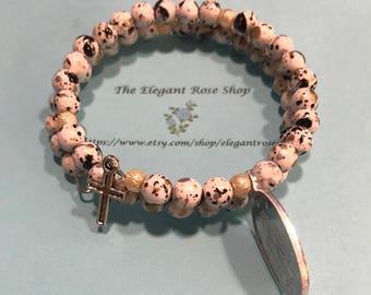 Beautiful Rosary Wrap Bracelet