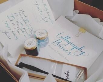 Calligraphy Starter Kit, Learn Calligraphy, Calligraphy Practice Sheets, Calligraphy Practice Set, Beginner Calligraphy, Artist Gift