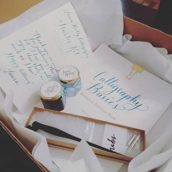Calligraphy starter kit learn