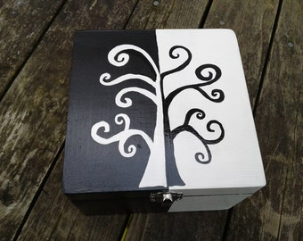Yin Yang Tree Keepsake Box
