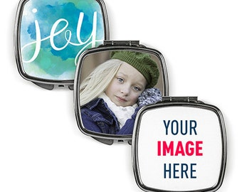 Custom Compact Mirrors, Makeup Mirror, Purse Mirror, Pocket Mirror