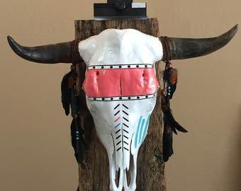 Steer Skull Southwest Decor