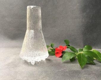 Scandinavian vase Tapio Wirkkala - glass pitcher - midcentury scandinavian serving bowl