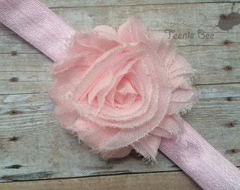 Valentines Day Headband - Baby Valentine's Day Headband - Valentines Day Baby Girl Headband - Newborn Pink Headband