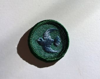 Vintage Girl Scout Animal Bird Finder Award Patch Badge Sash Awards Girl Scouts of America Uniform Accessories Parts