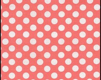 Michael Miller Michael Miller Ta Dot Shell Salmon Pink Color - listing for 1 Yard -FM