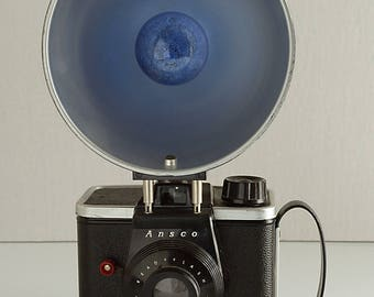 Ansco Readyflash Camera with Flash Film Camera