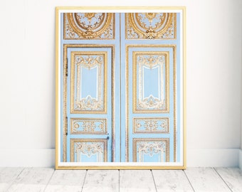 Versailles Print, Versailles Photograph, Gold Print, Versailles Paris Print, Statement Art, Paris Wall Decor, Unique Gift, Wedding Gift