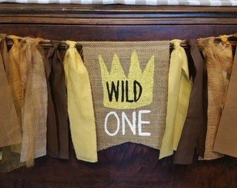 Wild One Banner, Wild One First Birthday, Wild One Sign, Wild One Decorations, Wild One 1st Birthday, Wild One Decor, Wild One Party Decor
