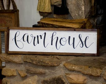 Rustic farmhouse sign Rustic home decor Farmhouse decor Farmhouse sign  Farmhouse wall decor Barn wood signs Rustic kitchen signs Wood signs